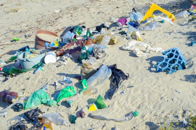 beach plastic to shampoo bottles